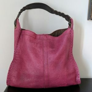 Lucky Brand distressed shoulder bag